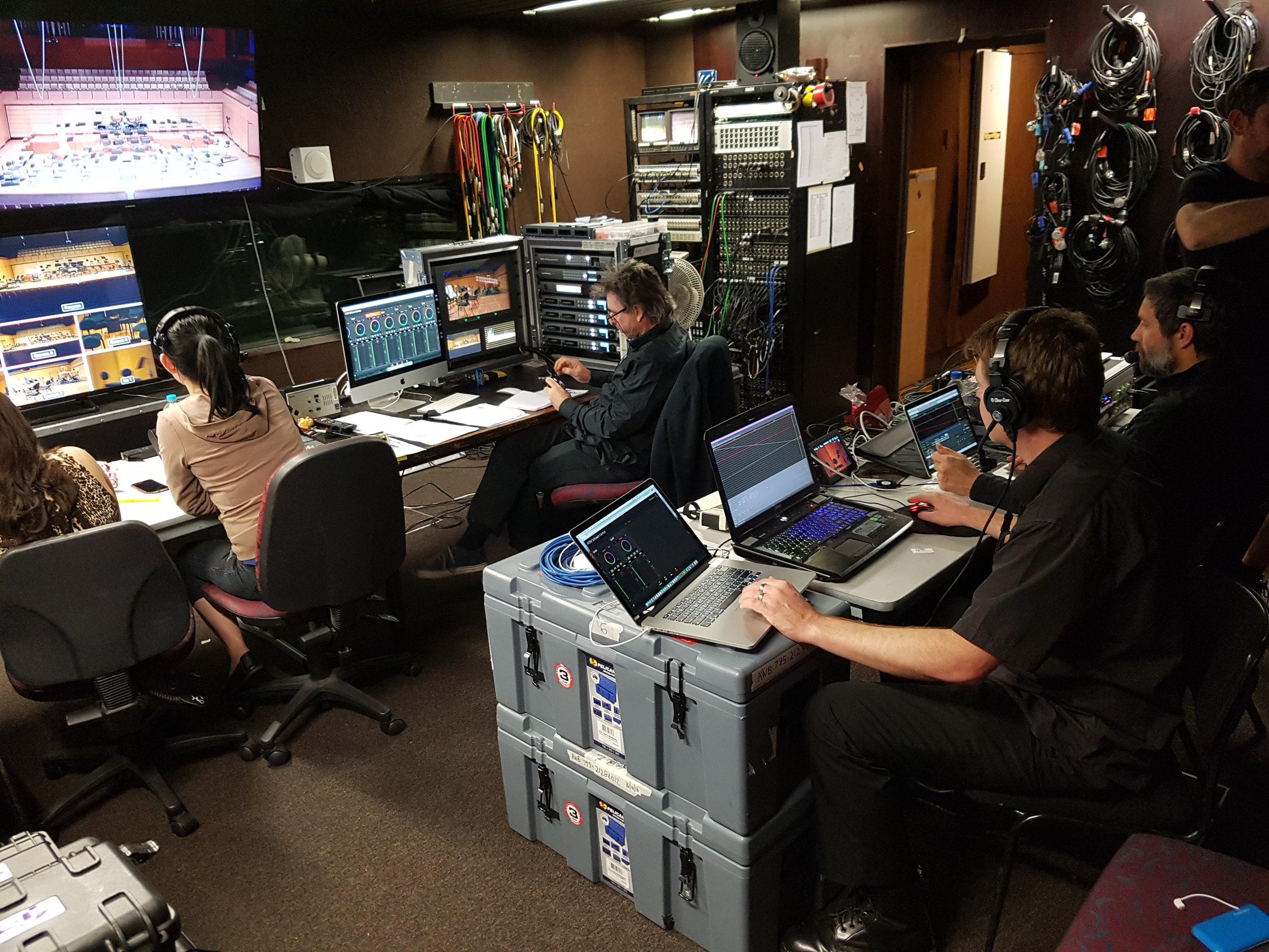 "BlueDog Television Multi Camera For Foxtel Arts ""Maestro Series""."