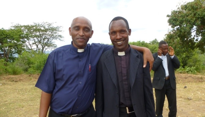 Reverend Eliah coordinatoes the CCMP from the Bishop#s office in Arusha