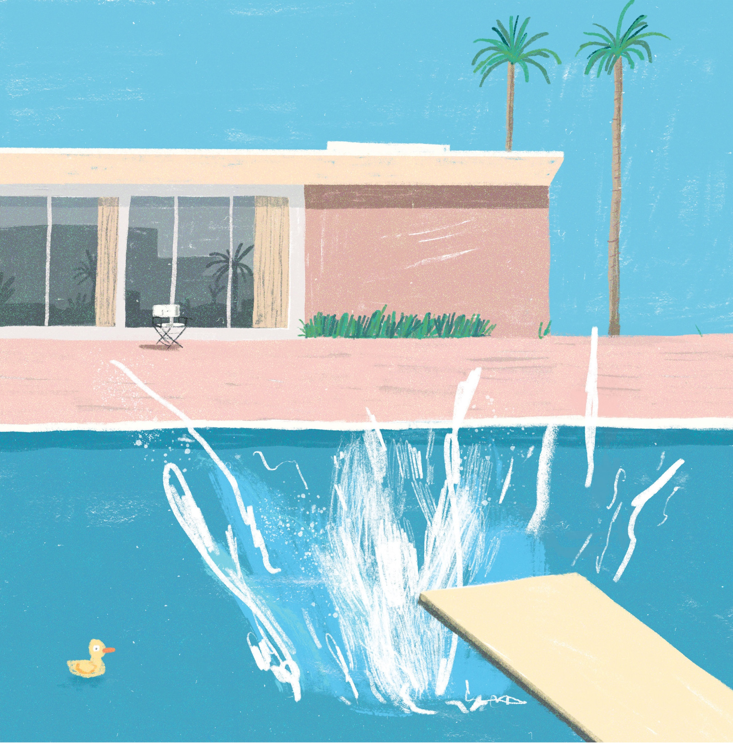 hockney bootleg