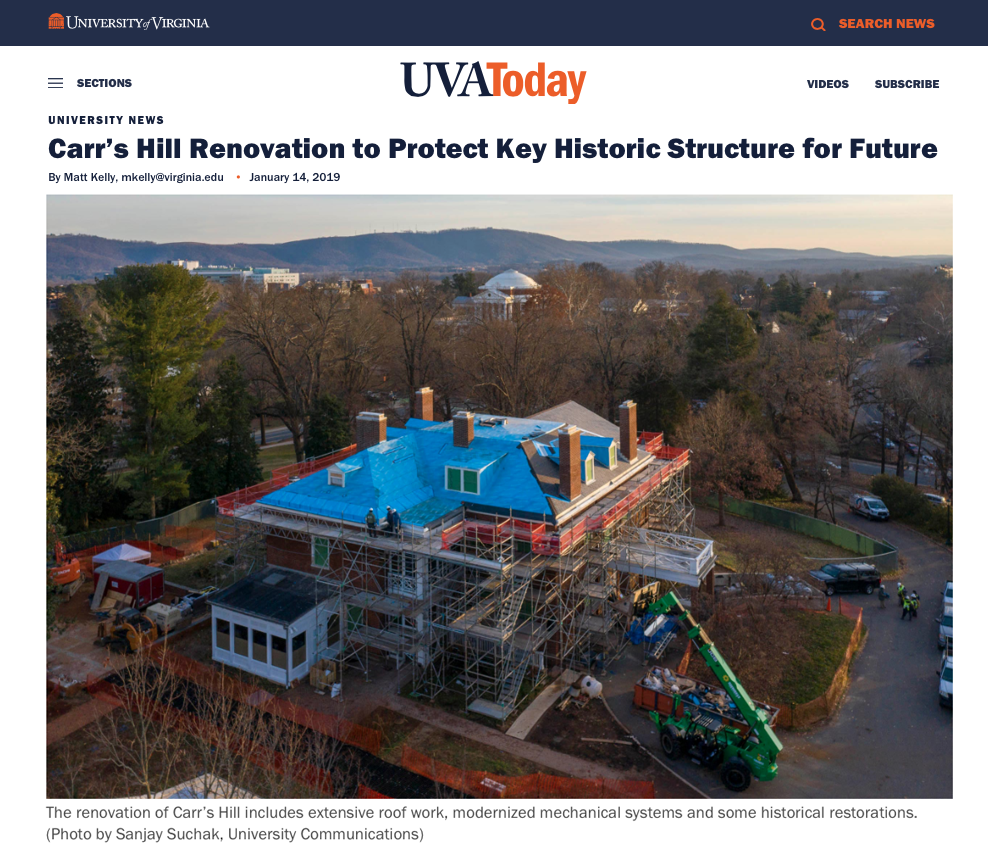 (Republished with Permission,  UVA Today. )