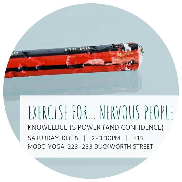 Been on the fence about kickstarting your 2019 wellness plan? . Today's the day! #carpetickets . Head on over to the link in our bio and save your seat for this Saturday's session on movement and exercise. . We're taking stock of availability this afternoon, and will consider rescheduling to the less holiday-hectic January 🎁 if we're not seeing a lot of tickets sold. . Thanks all!
