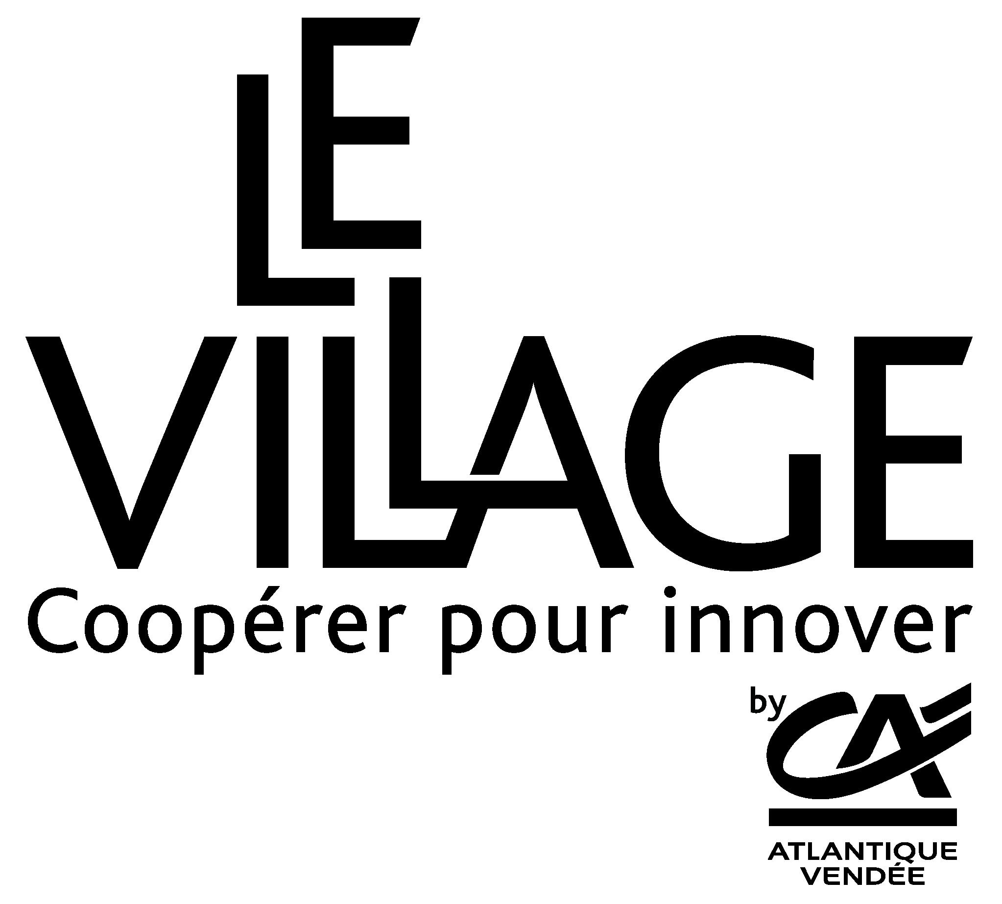 Logo Village by CAAV noir.png