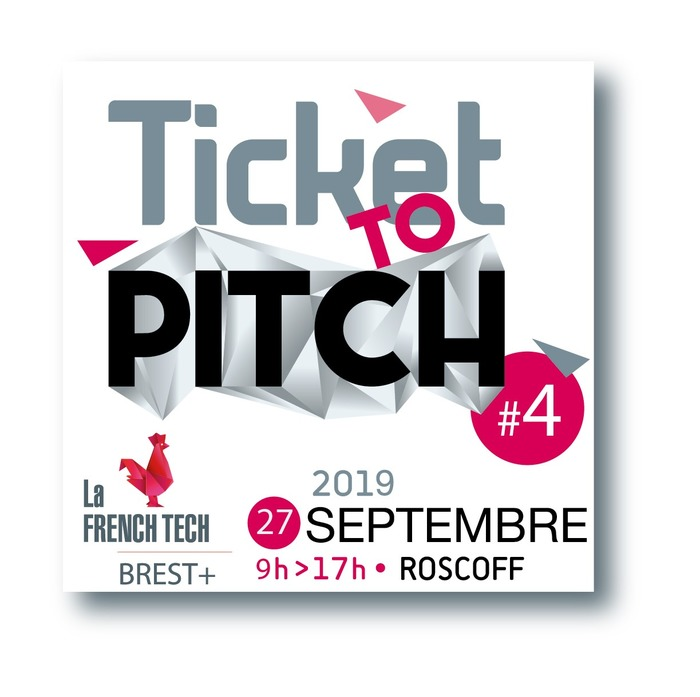 Ticket To Pitch - Pour accompagner l'accélération des startups de l'ouest breton et la transition numérique des entreprises plus traditionnelles, la French Tech Brest+ embarque le vendredi 27 septembre 2019 à de 9h à 17h, à bord du Pont-Aven pour la 4e édition de son événement