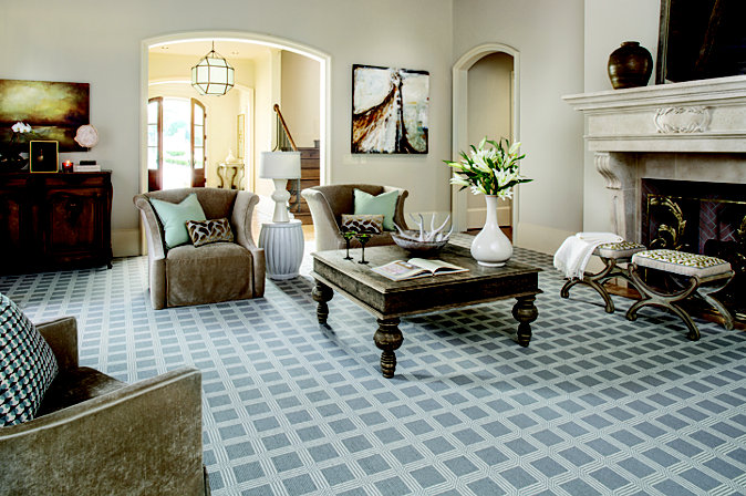 There are so many Karastan carpets to fall in love with; but one of our personal favorites is the Woolston Plaid collection. It is made from 100% New Zealand wool.