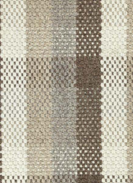 Flat weave wool: Kaleen: Bungalow: Plaid