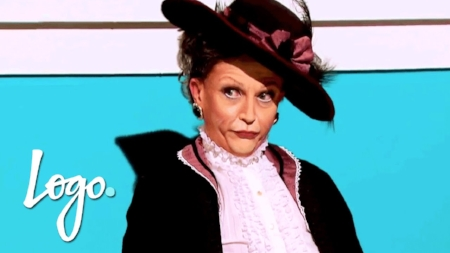 Ben de la Crème as Maggie Smith in Downton Abby
