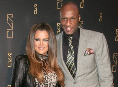 Lamar with Khloe's old face.