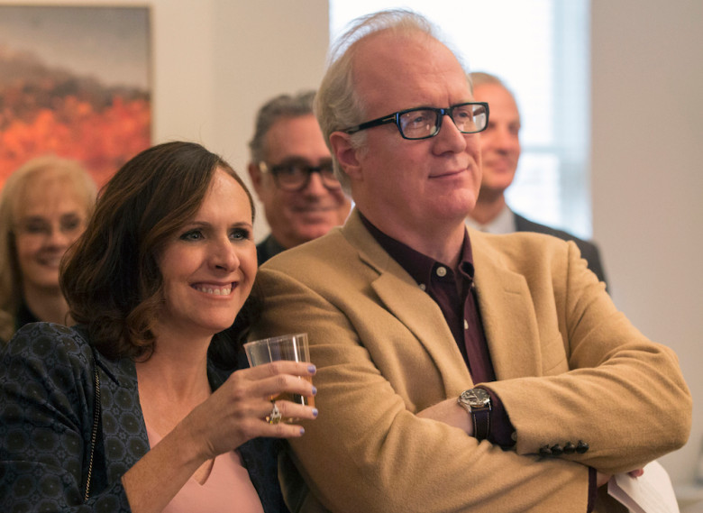 Molly Shannon & Tracy Letts in HBO's  Divorce