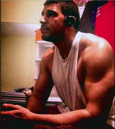 Matt's insta biceps