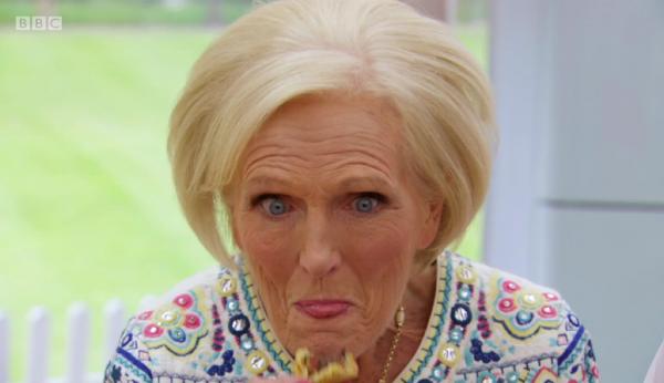 Mary's O….yster Face.