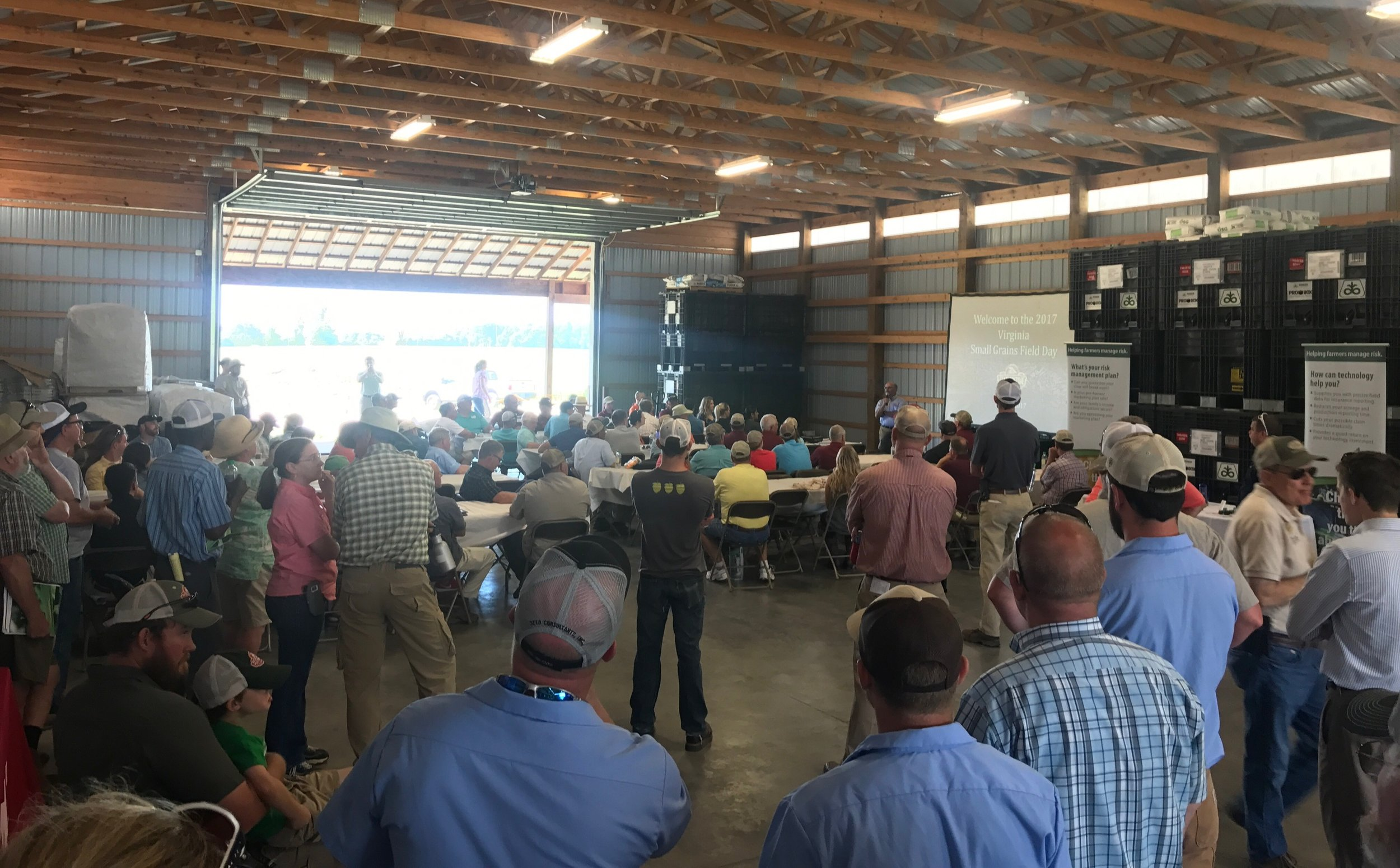 The indoor program covered many of the emerging opportunities for Virginia grain producers and end-users