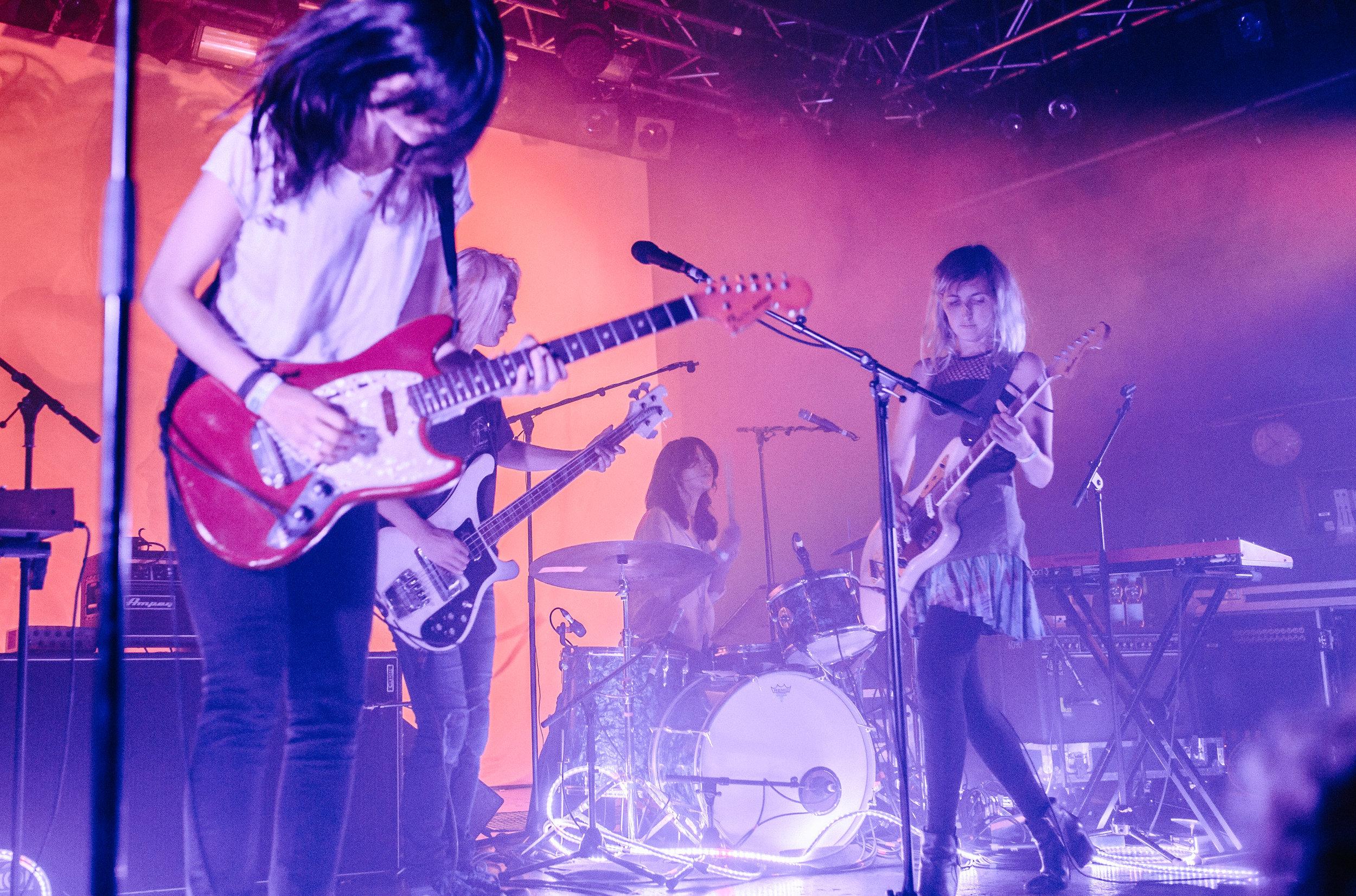 WARPAINT live in Vienna, 2014
