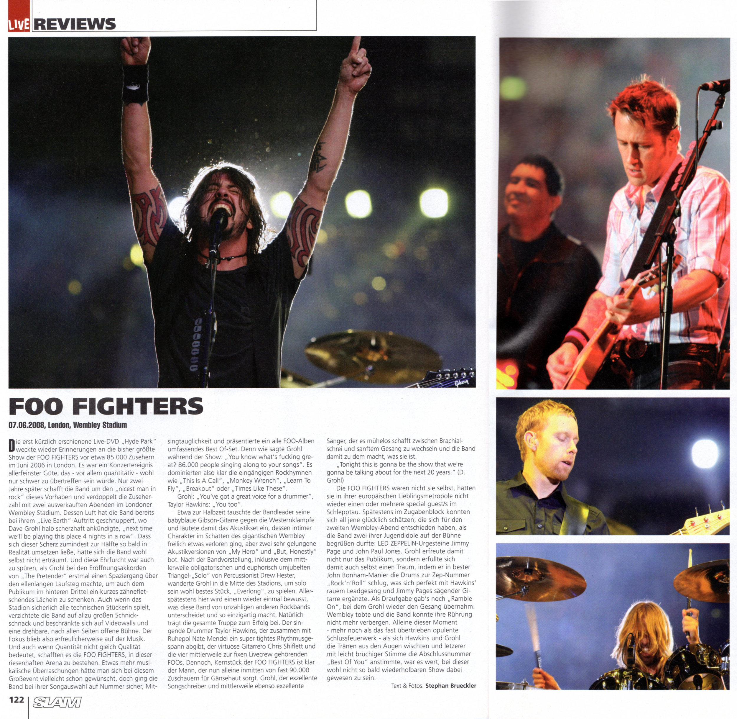 FOO FIGHTERS live in London/Wembley Stadium, 2008