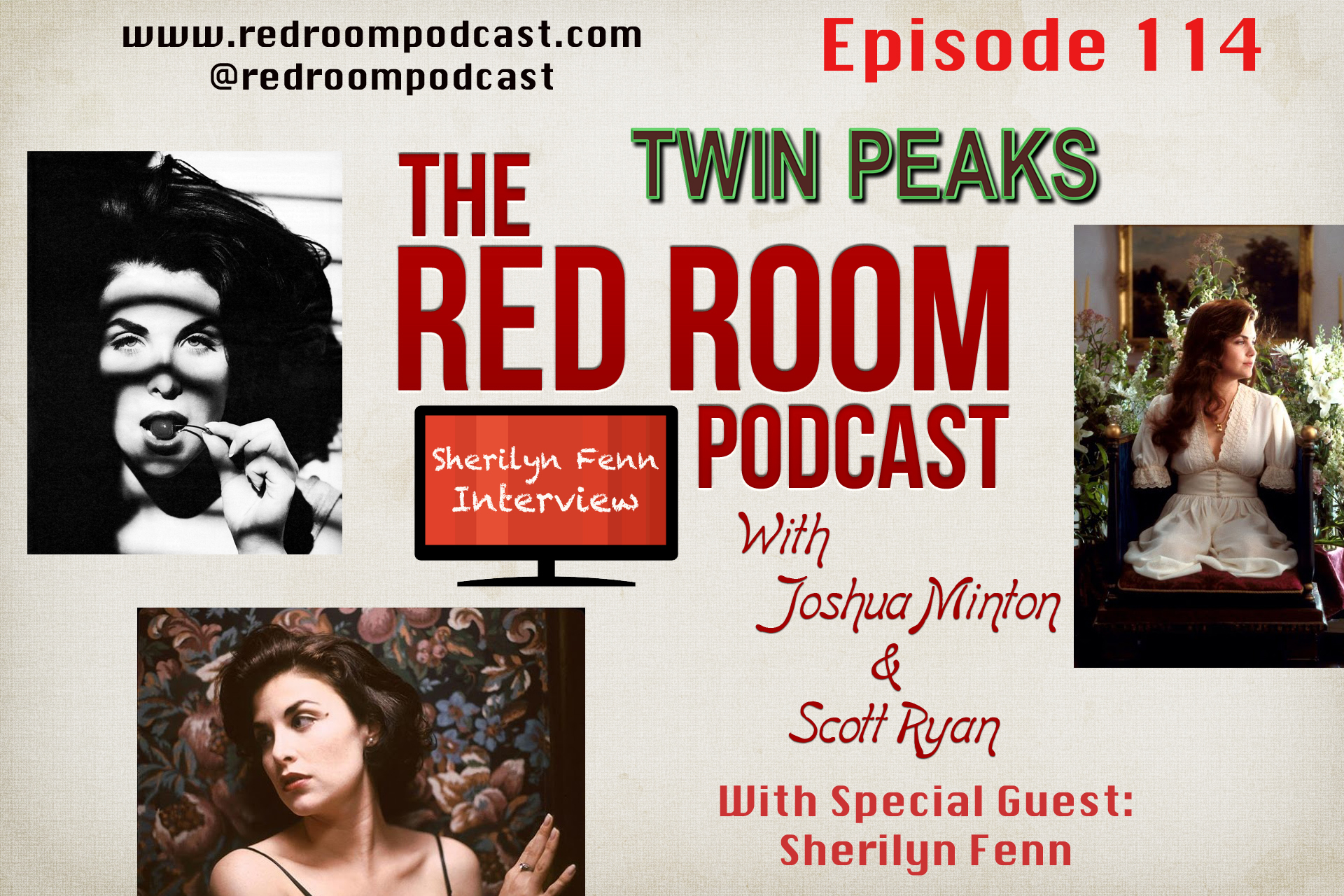 Sherilyn Fenn Podcast Interview The Red Room Podcast