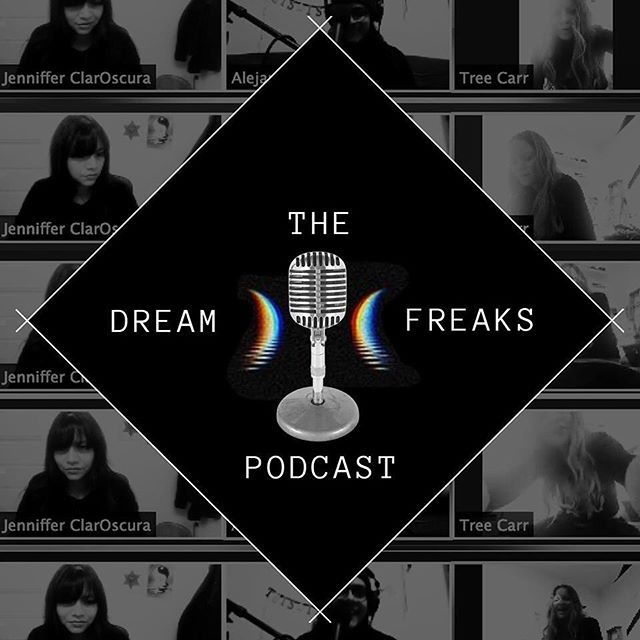 🎙 IT'S OUT:  Tune into the first episode of @thedreamfreaks podcast! @lucid_dream_tree , @jenniffer_claroscura  and @alej_salinas talk about finding their dream tribe, mutual dreaming experiments , the importance of dreams, the process of dreamwork ,  Yoga Nidra, working in the Hypnagogic state, dream herbs , setting intentions, lucid dreaming gadgets and supplements, false awakenings, reality checks, music in dreams, synchronicity, the collective dream, helping others through the dream-state and tarot! . . 🎙 CLICK LINK IN BIO . . . . 🎙🌙🎙🌙🎙🌙🎙🌙🎙🌙🎙🌙🎙 . . You can find this podcast on Spotify, Soundcloud, iTunes (soon), Google Play (soon), and YouTube. Search @TheDreamFreaks across all social media platforms . . . 🎙🌙🎙🌙🎙🌙🎙🌙🎙🌙🎙🌙🎙 . . #dreamfreaks #thedreamfreaks #dreamfreakspodcast #thedreamfreakspodcast #luciddreamtree #alejsalinis #jennifferclaroscura #london #newyorkcity #chicago #luciddreaming #dreamexploration #consciousdreaming #dreamwork #dreamherbs #realitychecks #mutualdreams #collectivedreaming