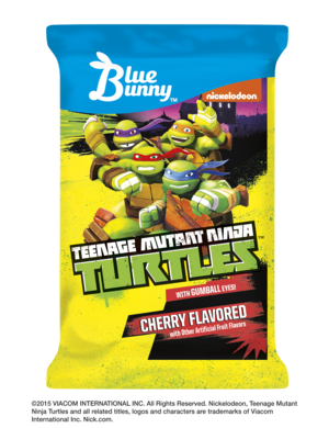 Teenage Mutant Ninja Turtle Face Bar