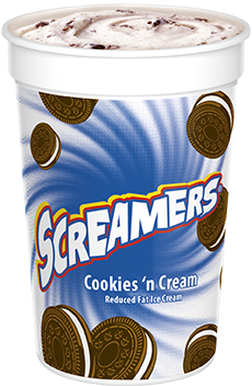 Cookies 'n Cream Screamers!