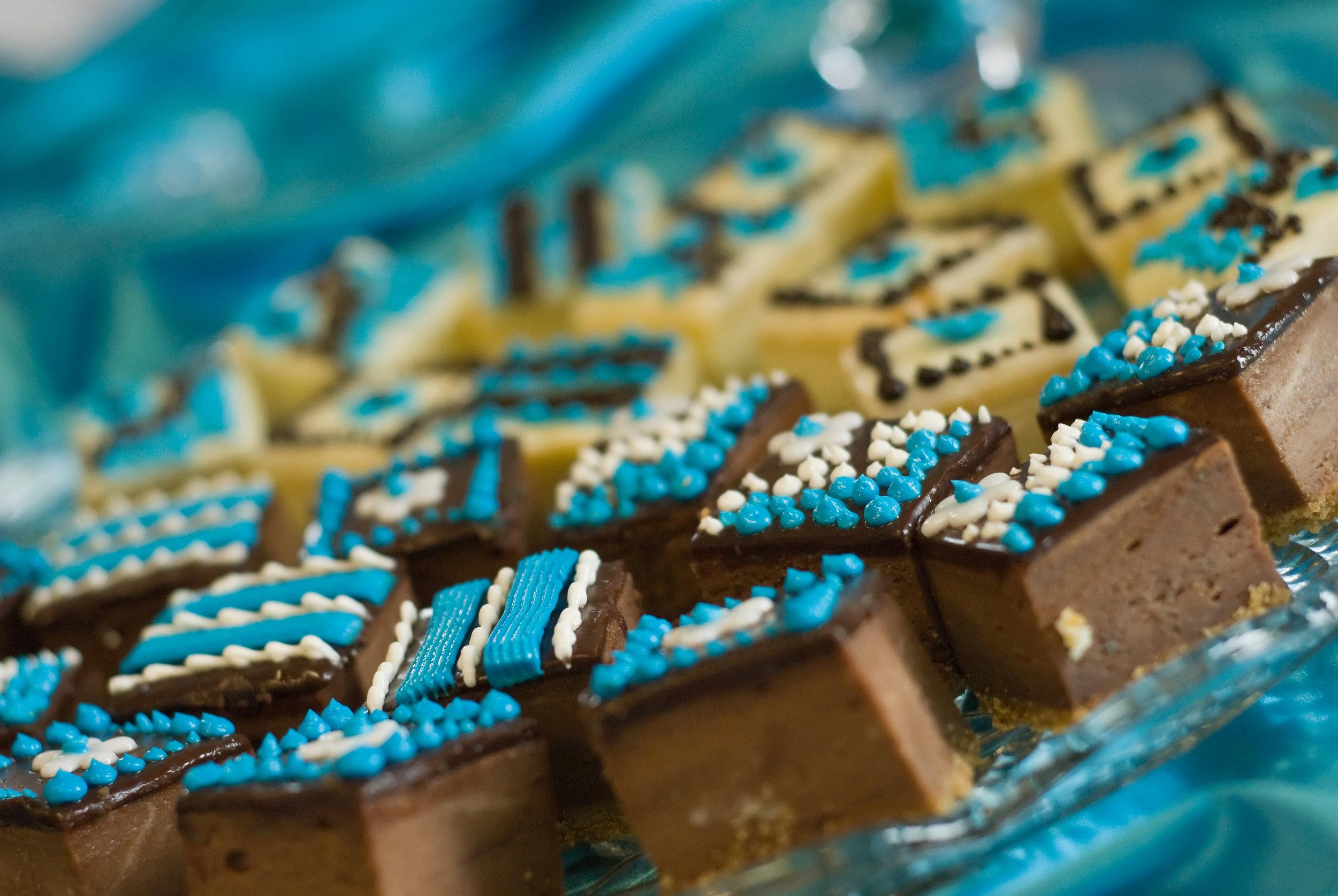 Reception Wedding Cake Bites