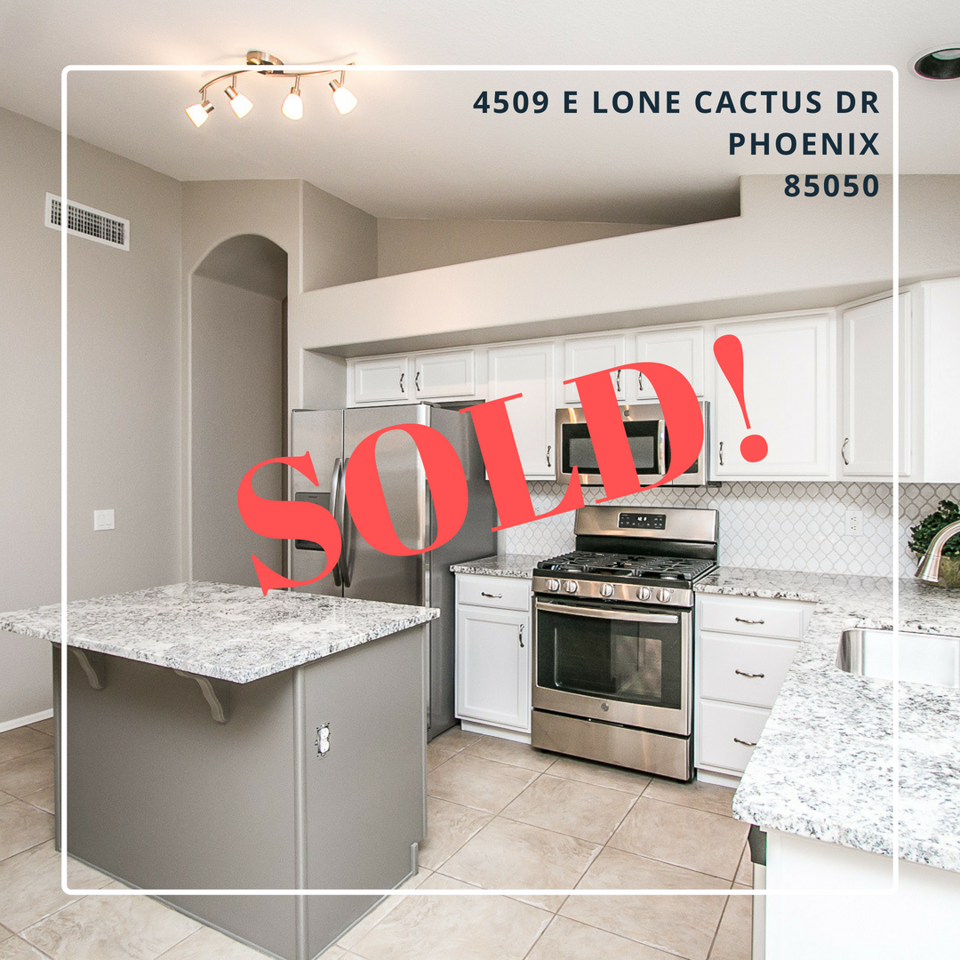 Desert Ridge Remodel SOLD!