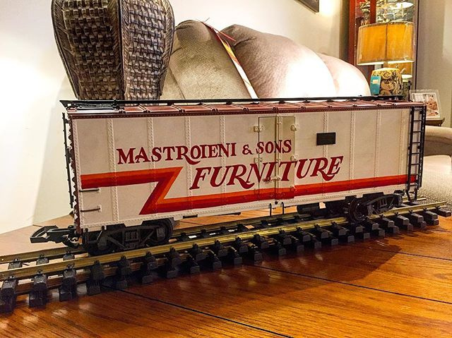 Retro model train. Should we go back to this logo??