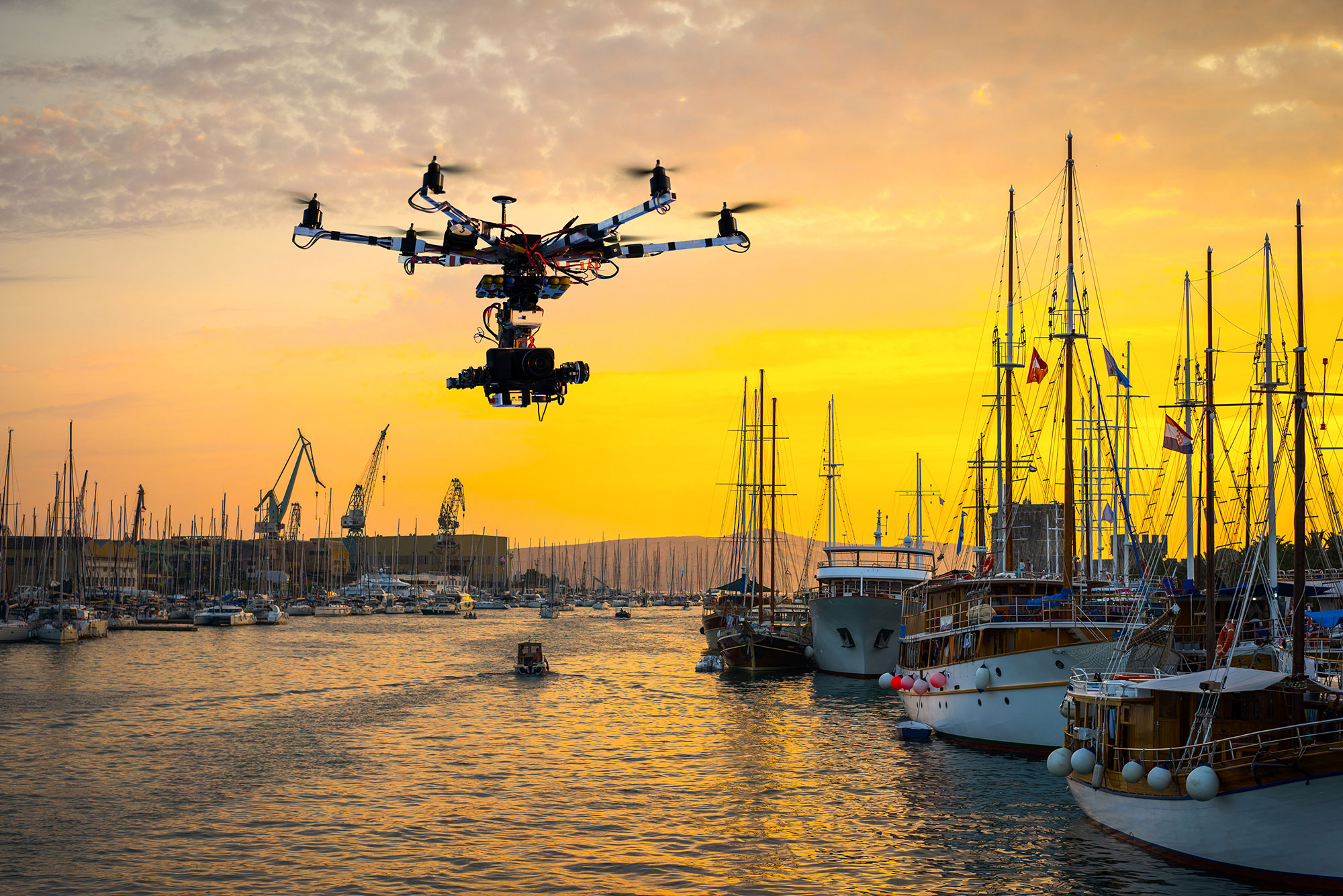 DRONE DETECTION - There is no doubt that drones can be a particular problem in the superyacht industry. MarineGuard has drone detection solutions to maintain privacy and security.