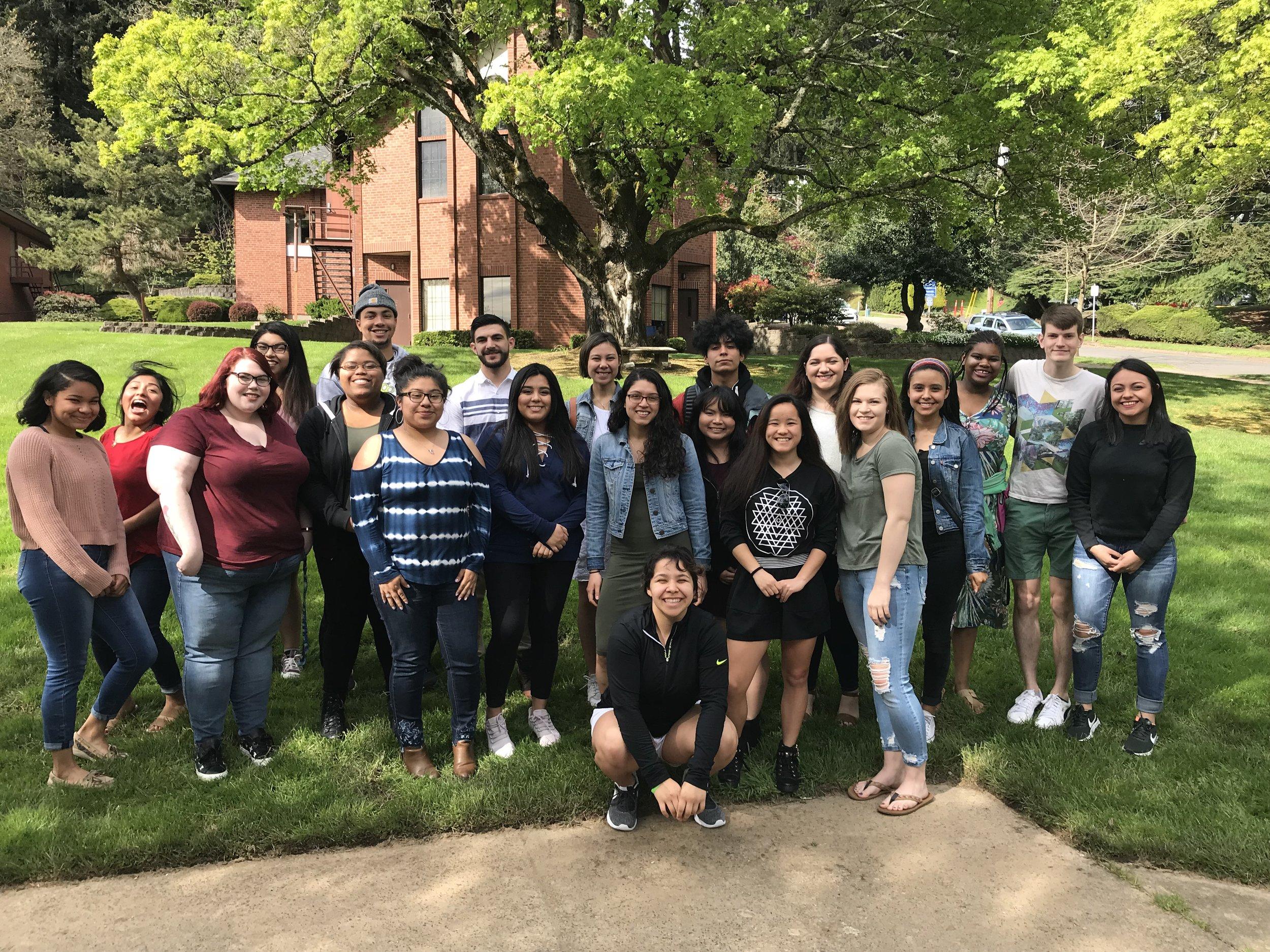 2018-19 ASWPU Leadership Team