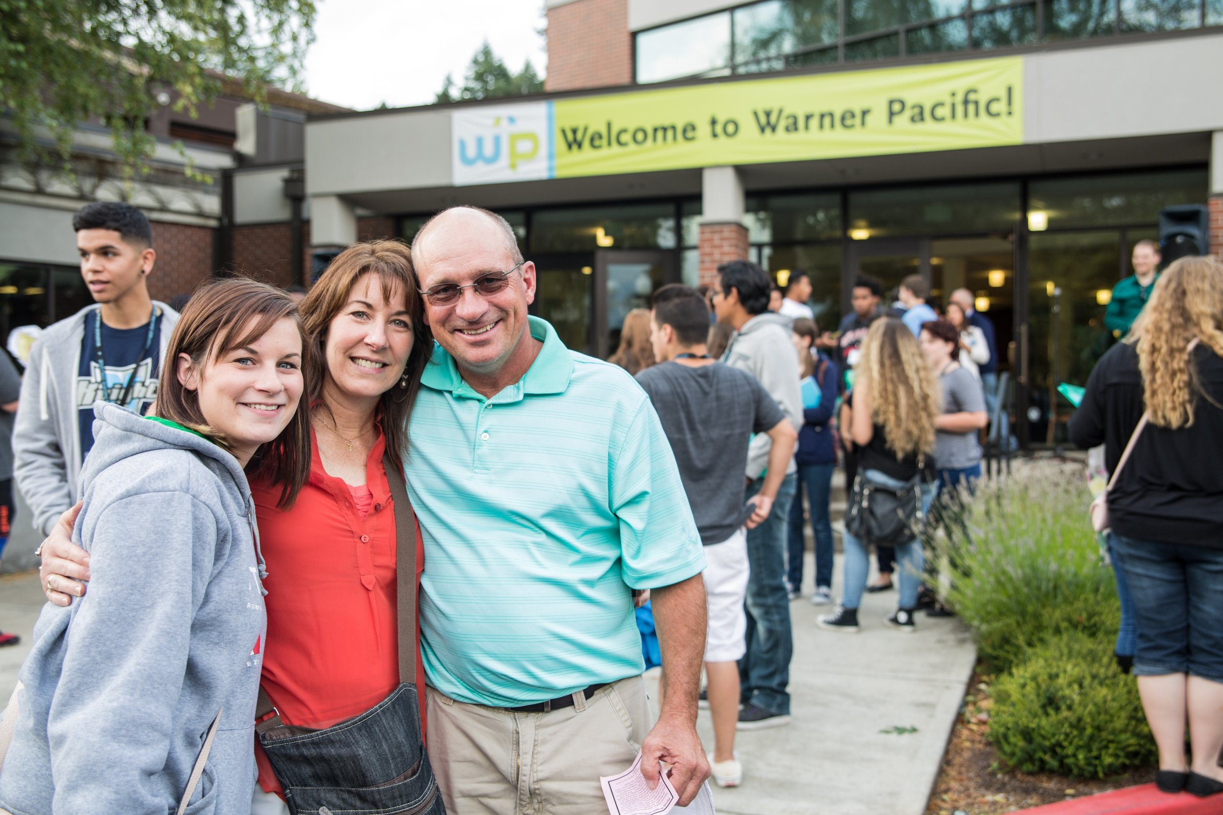 New Knight Families - WPU invests in the formation and success of all students!