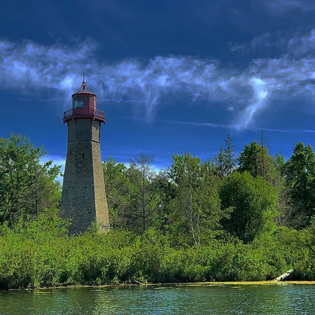 Why is there a #lighthouse in the middle of #torontoisland ? #onlybyboat