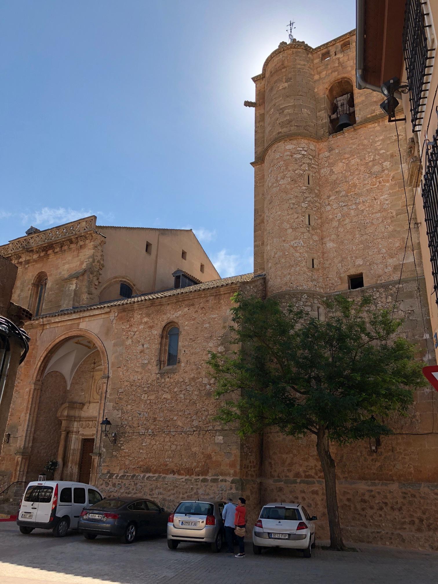 CHURCH DEDICATED TO SANTOS