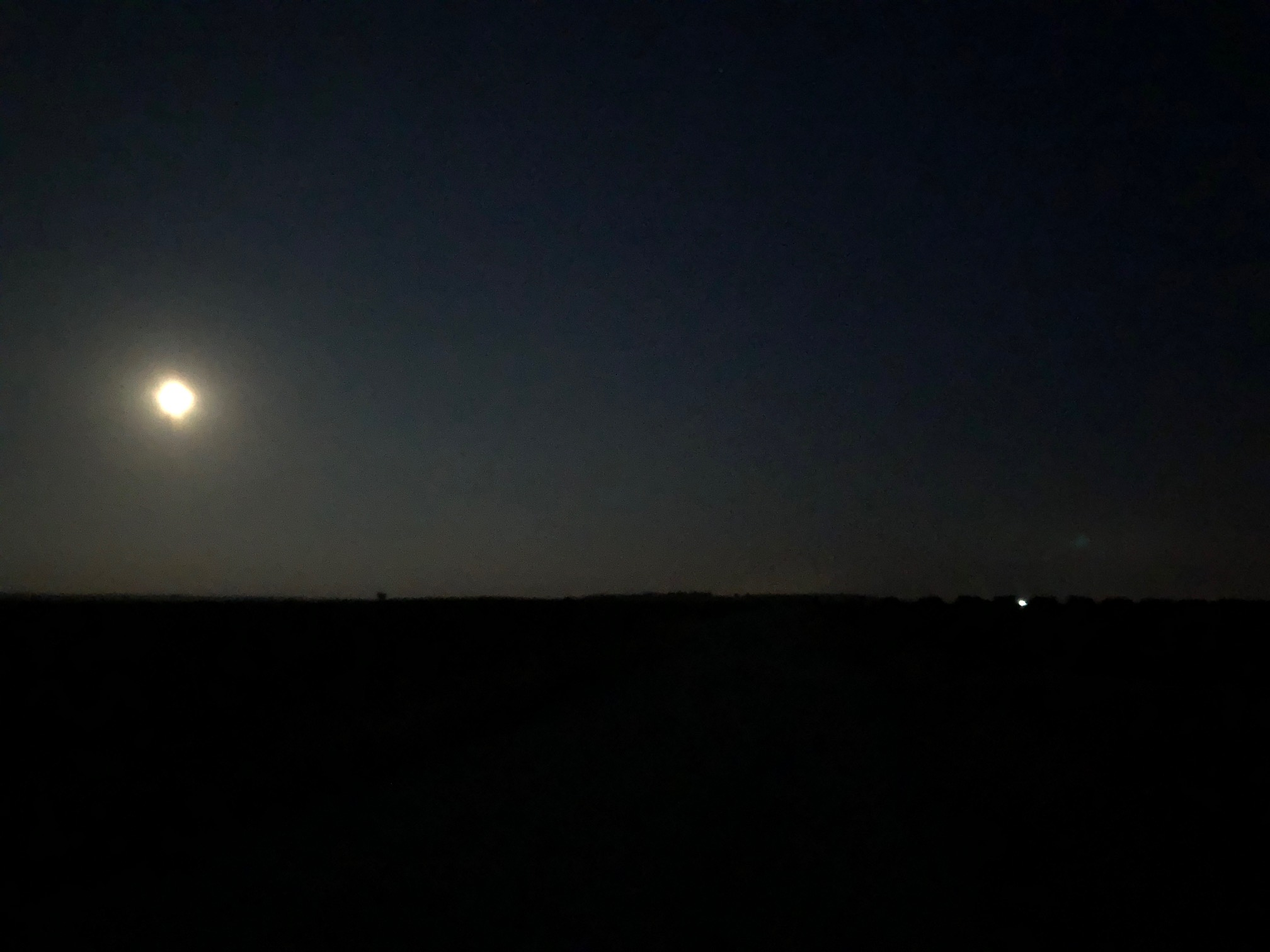 WALKING IN THE THE LIGHT OF THE FULL MOON