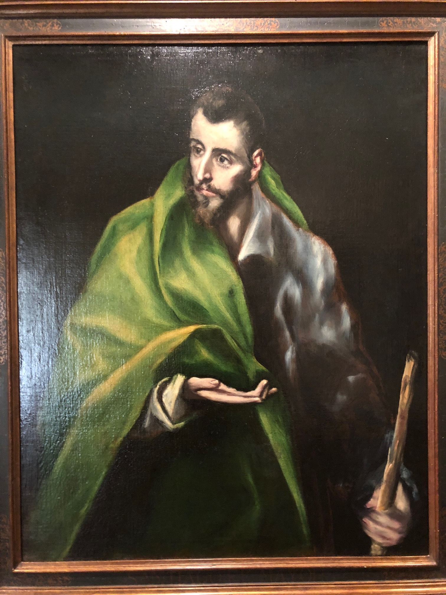 El Greco's Jesus.