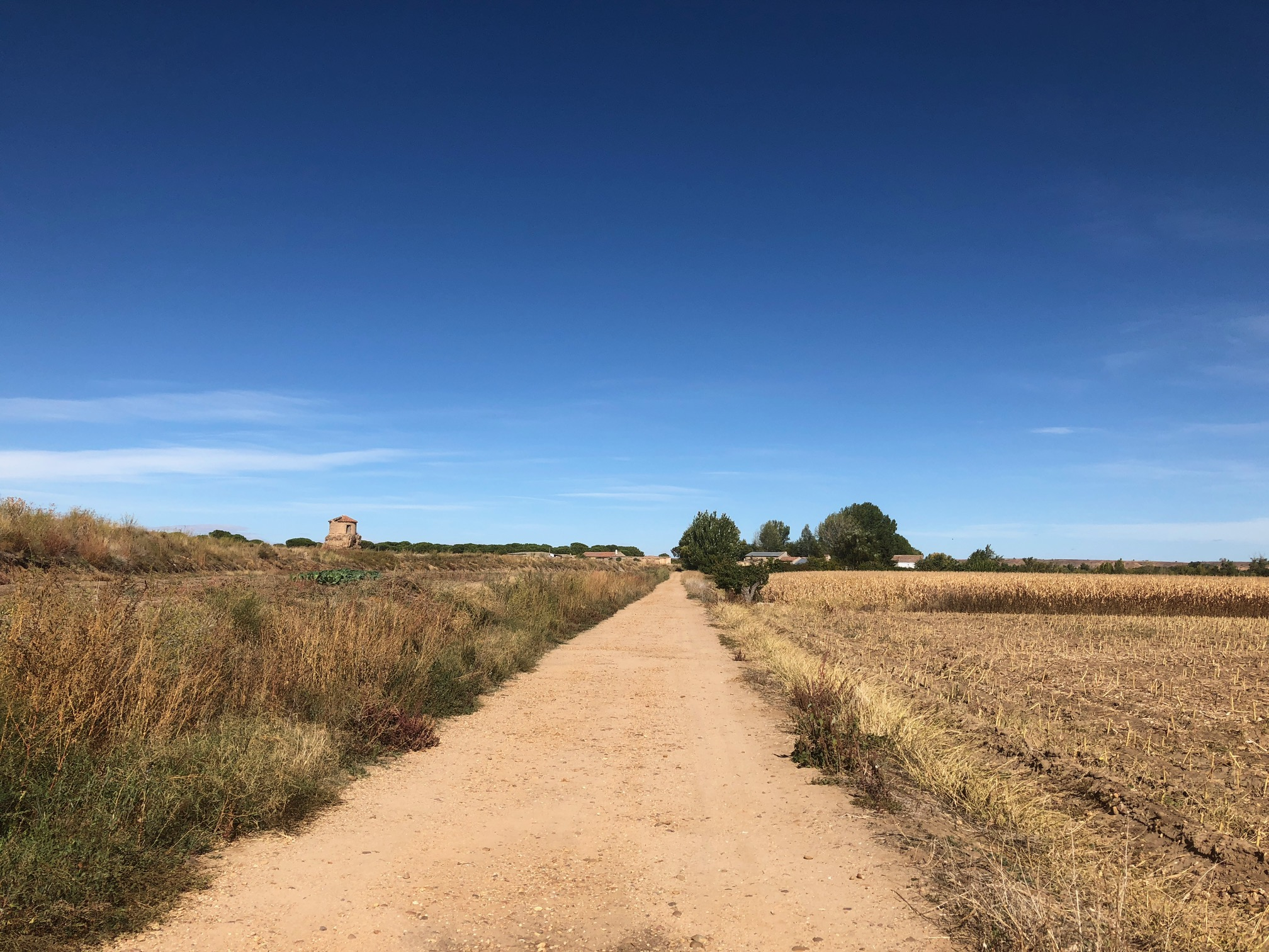Semi abandoned hamlet en route