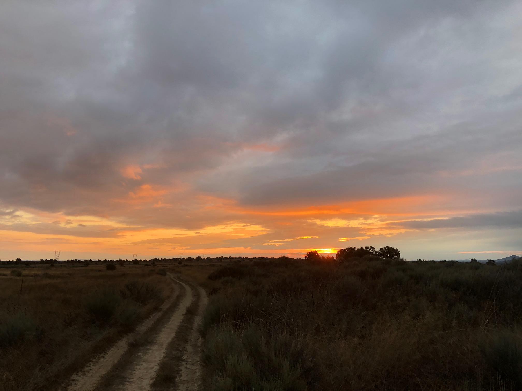 Saturday morning, sunrise