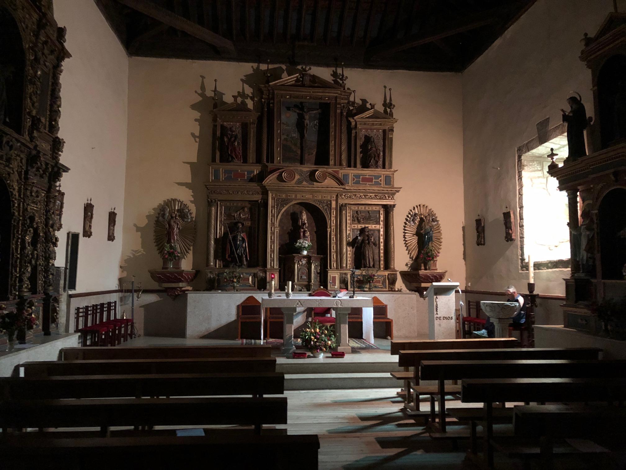 Church in Mombuey