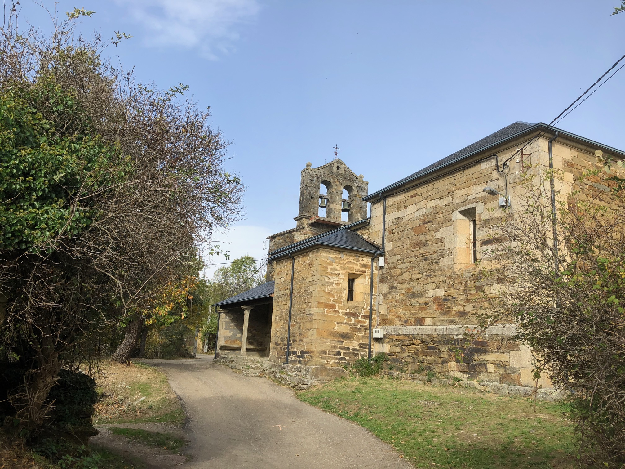 Church in one of the 5 villages