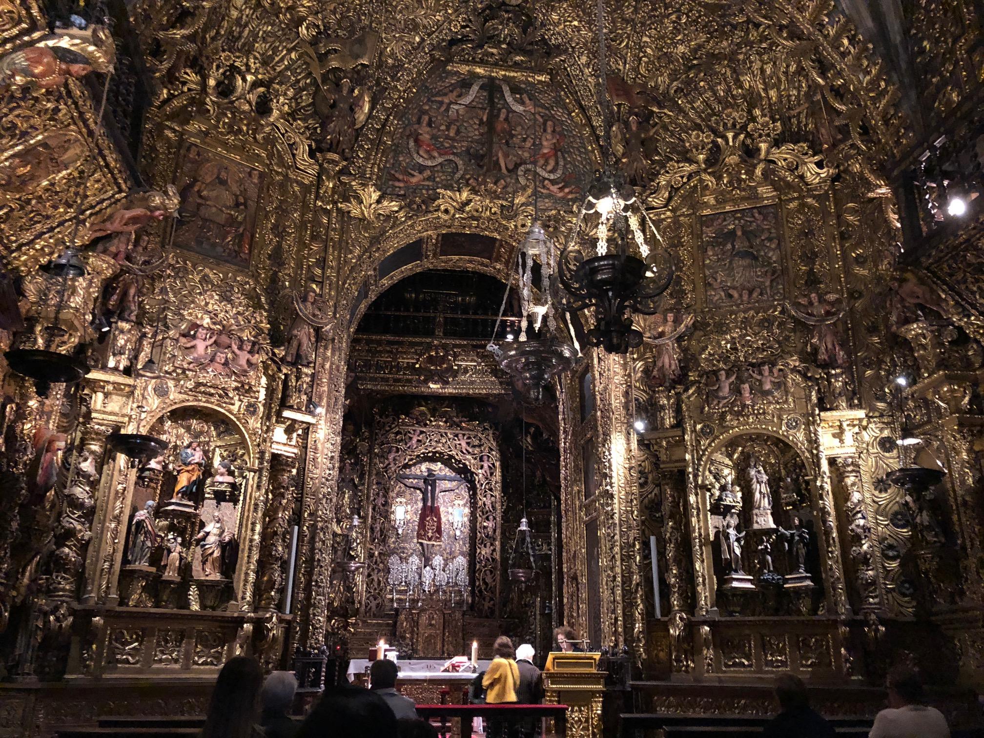 Gilded chapel
