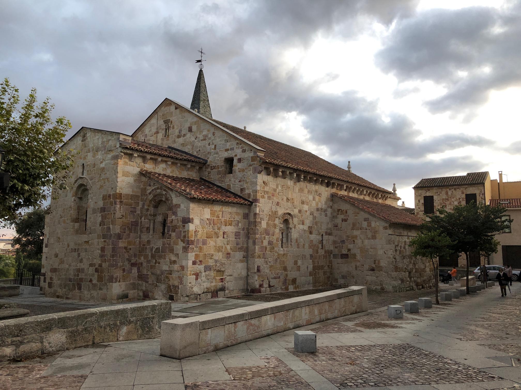 The Romanesque Church of San Cipriano
