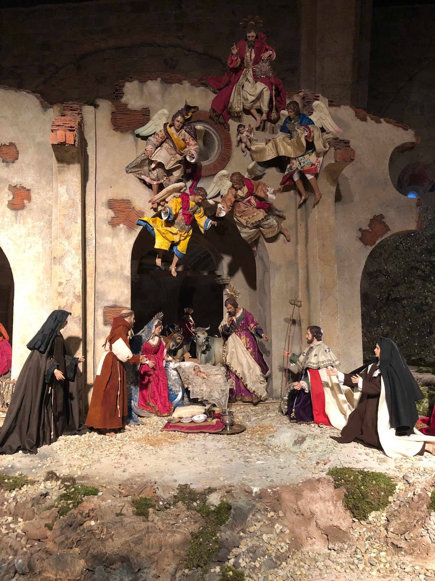 The manger