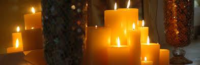 Bees Wax Pillar Candles (Click through)