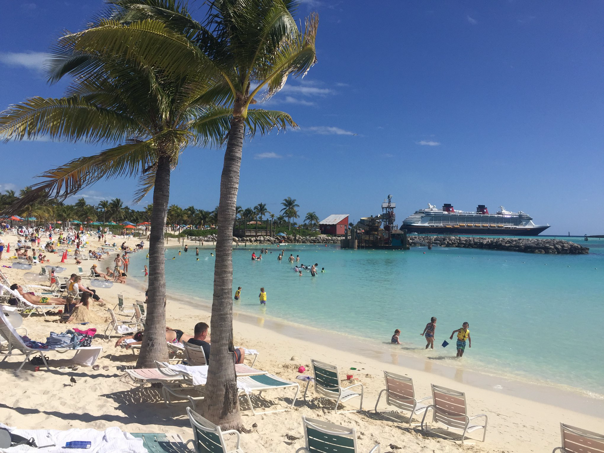 Who wouldn't want to have their toes in the sand at Disney's own private island, Castaway Cay?
