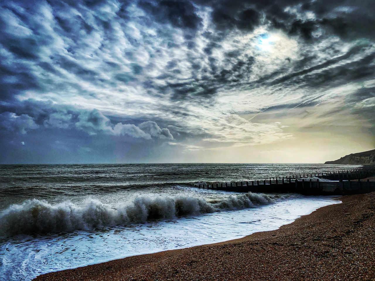 A Walk On The (Slightly) Wild  (Sea) Side