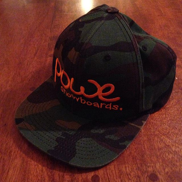 Powe. Snapback. Go to Powesnowboards.com to find this cool powe.snapback along with other great gear.@powe.snowboards #ridepowe