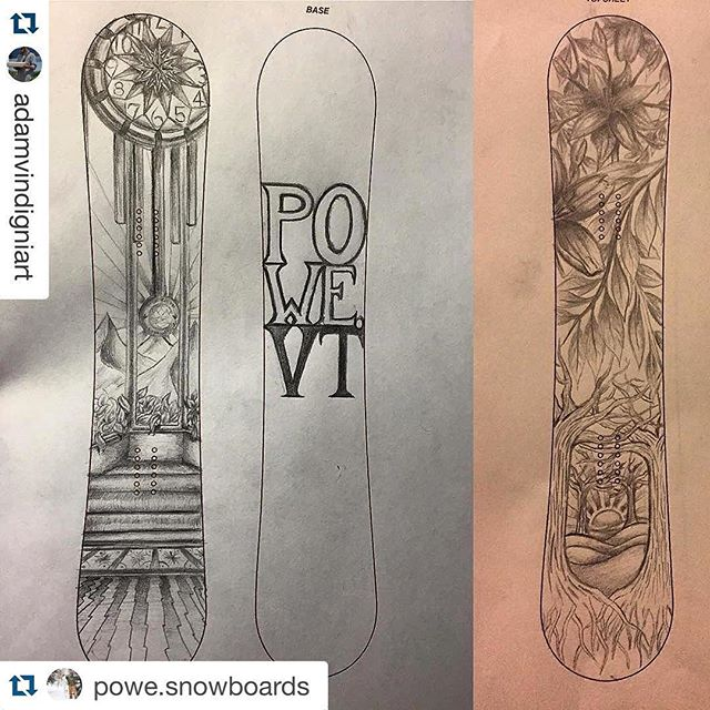 Can't wait for this season. @powe.snowboards @gmstvermont #RideGreen with #repostapp