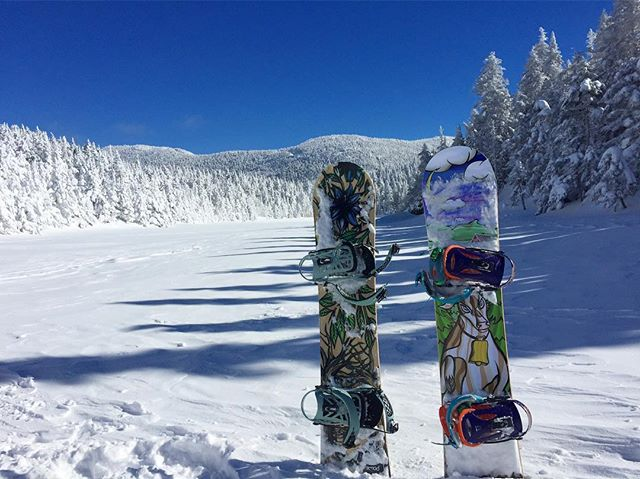 Two best friends in their natural habitat #wesnowboards #ridegreen #livegreen #ridepowe #rideart