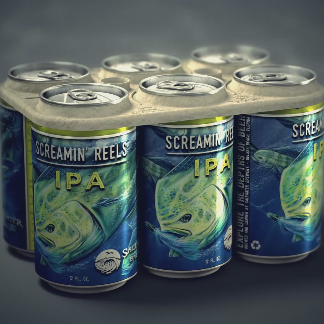 http://coolhunting.com/link/saltwater-brewery-edible-six-pack-rings
