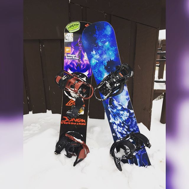 Start competing next weekend, kicking off the competition season ready and right. Also taught my girl a few things about @doneksnowboards and got her ready for this weekend. #doneksnowboards #vermontpeanutbutterco #vtpb