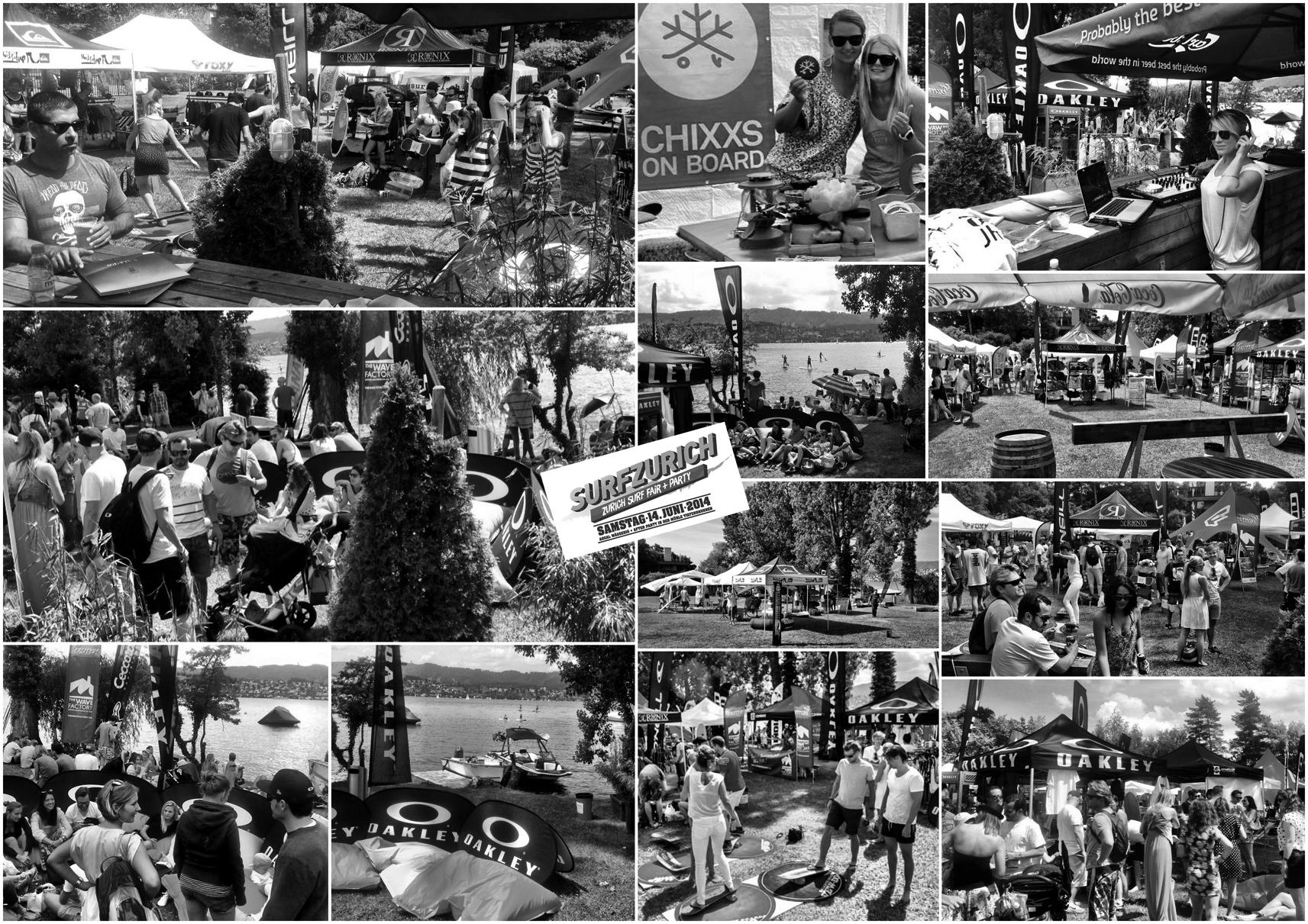 Surfzürich - Surfmesse und Afterparty Juni 2014