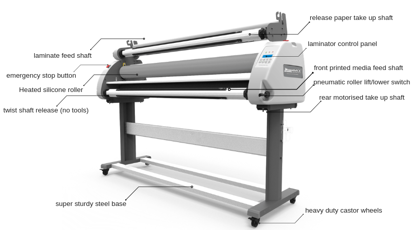 Mounter's Mate 1600hs wide format laminator specification