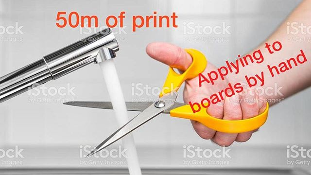 #largeformatprinter problems. Would mounters mate customers agree? #largeformat #print #flatbedapplicator #mountersmate