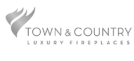 Town & Country Luxury Fireplaces Logo